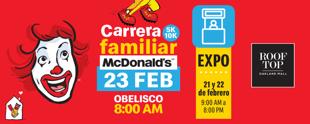 CARRERA FAMILIAR MCDONALD'S