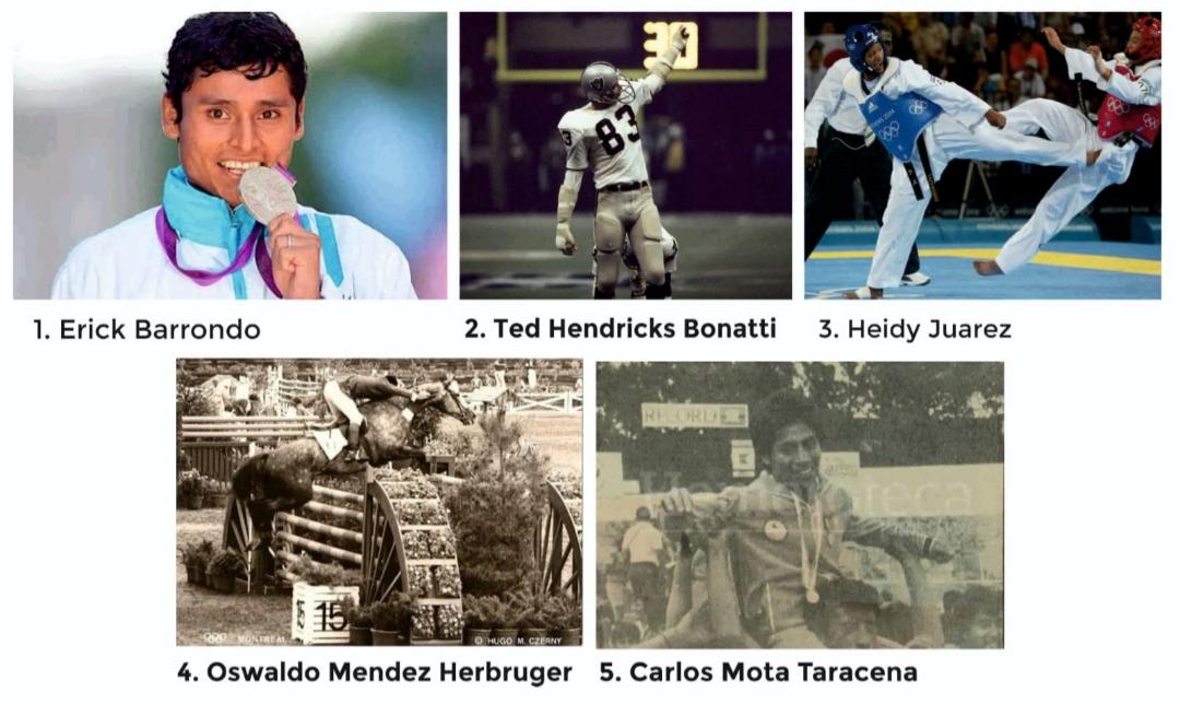 ¿Quiénes son los 5 deportistas más grandes que ha tenido Guatemala?