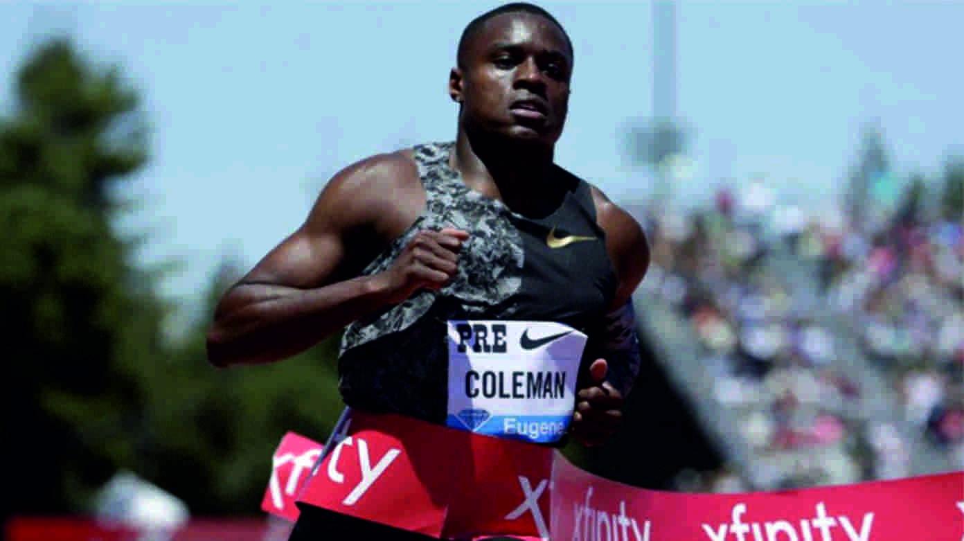 Christian Coleman sucesor de Usain Bolt