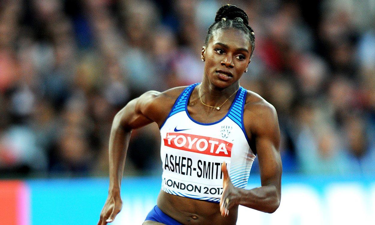 Dina Asher-Smith, la campeona mundial de 200 metros