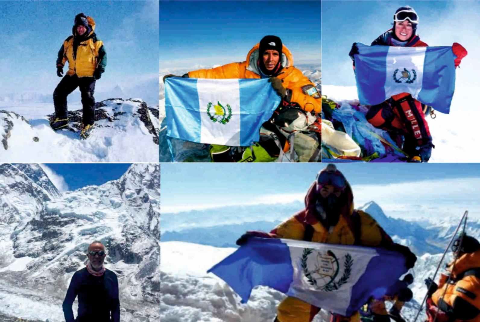 Los 5 guatemaltecos que han conquistado la cima del Monte Everest