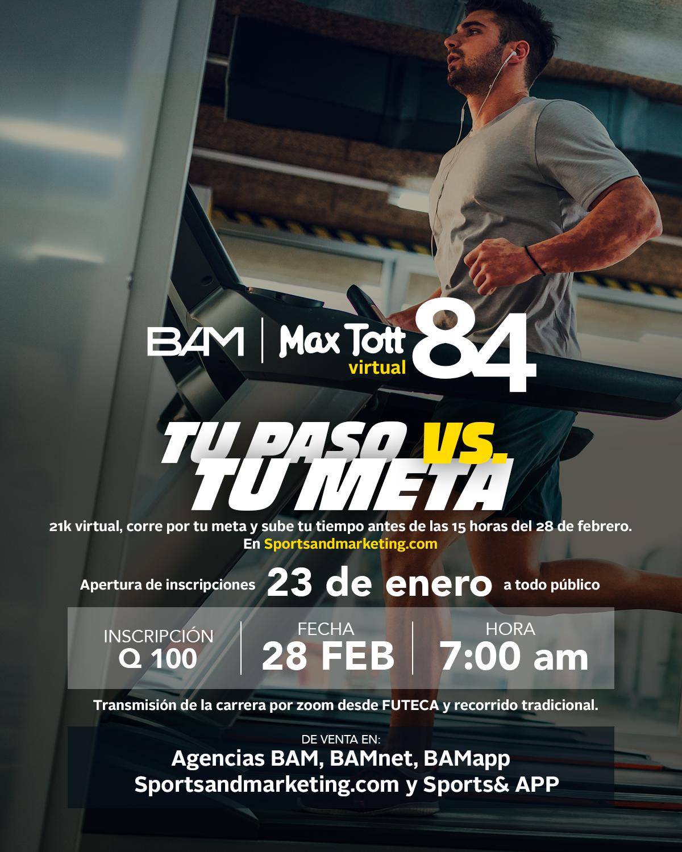 MEDIO MARATON BAM MAX TOTT 2021